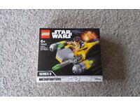 Retired B New Sealed Lego Star Wars Microfighters Naboo Starfighter Set Young Anakin Skywalker 75223