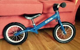 Balance Bike Kokua, Hardy Blue, bought in CycleZone Lisburn, excellent condition