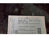 2x Sean Lock tickets