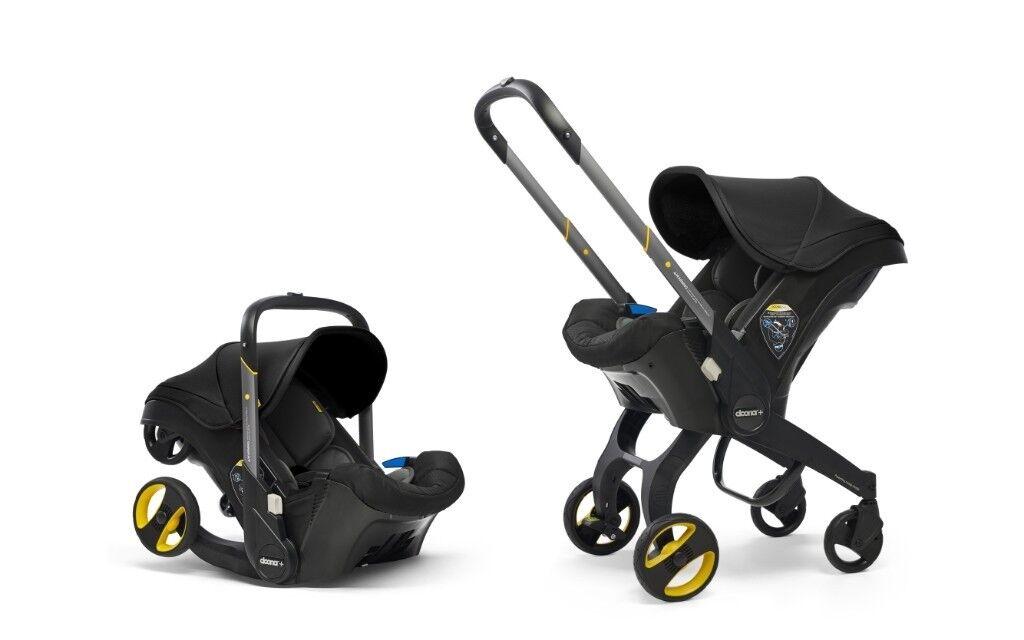 Brand New In Box Doona Baby Car Seat Black