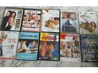 Loads of DVD'S for sale. Mostly chick flicks girl films all boxed