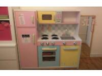 Kids play kitchen very well made
