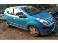 Nissan Pixo, 2010 year, blue colour, 5 doors Breaking and selling for Parts