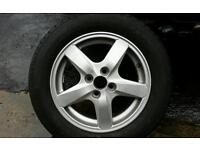 Toyota corolla factory alloys giveaway price!!!
