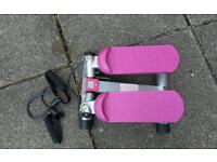 V fit fitness stepper with hand grips