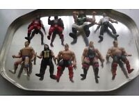 3inch wrestlers 9 in total