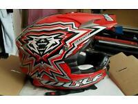 Wulfsport crash helmet worm once