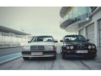 Looking for BMW e21 e23 e24 e28 e30 e32 e34 or any Mercedes before 1989 Non Runner Project