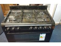 Gas cooker ( SWAN ) 90 cm never been used in Black