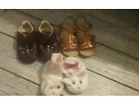 FREE BABY GIRL SHOES SIZE 4-5