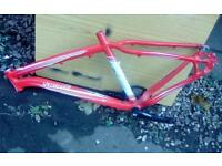 specailzed rockhopper bare 17 inch cycle bike frame