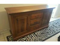 Sideboard dresser drawers solid wood