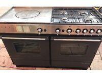 Rosieres range dual fuel cooker
