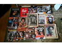 Rolling stones books and magazines.