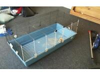 Indoor rabbit guinea pig rodent cage