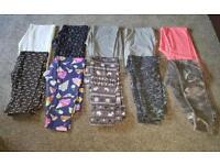 10 pairs of age 9 leggins