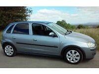 2005 VAUXHALL CORSA 1.3 SXI CDTI DIESEL 1 YEARS MOT & TAX 5 DOORHATCHHISTORY VERY ECONOMICAL