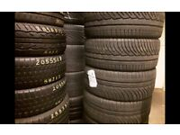 Part worn tyres 225-40-18/245-45-17/225-50-17/ 41 new road rm138dr open 7 days a week