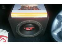 JBL CAR AMP AND SUB