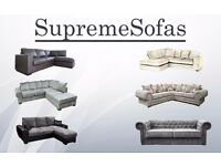 **BRAND NEW!!! **FROM £299** CORNER SOFA, 2+3 SOFA SET, CRUSHED VELVET, FAUX LEATHER, JUMBO CORD