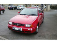 For sale Miss Ruby VW Polo Saloon 1.6