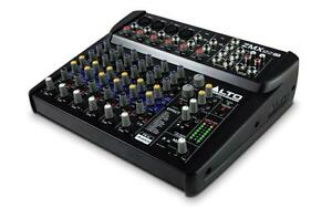 New ALTO ZMX122FX 8-Channel Compact Mixer with Effects