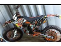 Ktm125sx road registered