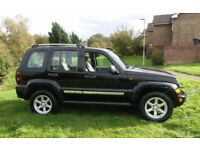 2006 JEEP CHEROKEE LIMITED CRD 2.8 DIESEL AUTOMATIC 1 YEARS MOT & FULL HISTORY