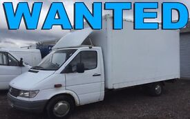 Mercedes Benz sprinter 311 cdi 313cdi 316 CDI van wanted!!!