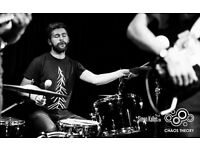 Session drummer/fill in drummer available in Bristol. All styles. Quick learner.