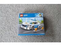 Brand New Sealed Lego City Police Officer Patrol Chase Car Pursuit Traffic Cone 60239 Lights Siren