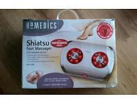 Homedics shiatsu foot massager