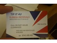 RUBBISH REMOVALS \ TIP RUNS