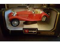 Burago mercedes benz 509k roadster