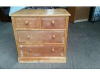 Pending Collection Antique Solid Pine Chest of Drawers