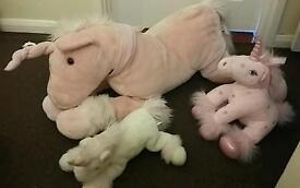 Unicorn family beautiful toys