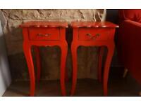 Two shabby chic side tables £40 each