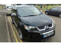 Mitsubishi outlander warrior 7 seater 18inch alloys