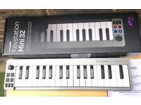 M-AUDIO KEYSTATION MINI 32 MK2 USB MIDI Keyboard Controller
