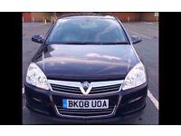 2008 Vauxhall Astra Breeze 1.4 i 16V 5Door Hatchback Manual Petrol (146 g/km, 90 BHP)