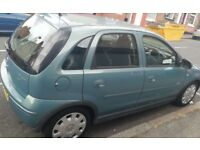 Vaxuxhall Corsa for sales