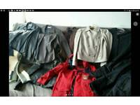 Lot of women's jackets and coats small to medium, was £40 now £20