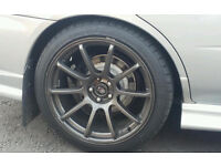 """18"""" rota force alloys 5x100 with tyres like new sell or swap for best kids quad"""