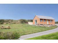 Dog friendly Cornish Cabin with epic sea views