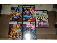 Xbox Kinnect games