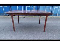 Vintage McIntosh Extending Dining Table Teak Large Boardroom Table Retro