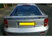2002 TOYOTA CELICA 1.8 VVTi 1ZZ-FE SILVER MANUAL BREAKING FOR PARTS 140 BHP