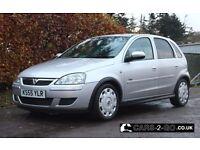 **LONG MOT**NEW TIMING CHAIN** Vauxhall Corsa 1.2 Design Twinport Silver 2005 5 Door **SERVICED**