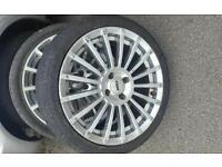 17s tsw alloy wheels