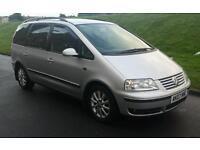 2007 (07) VW SHARAN 2.0 TDI SPORT 140 BHP 6 SPEED SAT NAV PARKING SENSORS